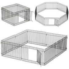 New Small Folding Playpen Guinea Pig/Rabbit/Hamster/Mouse Garden Play Pen/Cage