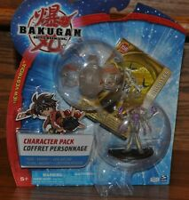 Bakugan Battle Brawlers Character Pack New Vestroia Figure Brontes Card NEW