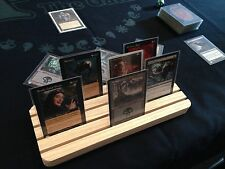 Pro Wood Card Holder. Playing Cards, MTG, Yu-Gi-Oh Bridge, Pokemon, Board games.