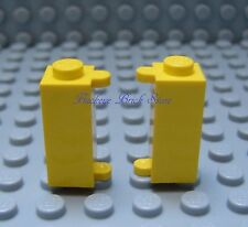Lego Yellow SHUTTER HOLDERS - Modified Brick 1592 6392 7814 6277 375 - Lot of 2