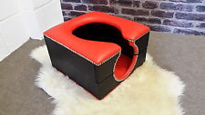 standard horse shoe smother box red and black kinky,fetish,bdsm,bondage.