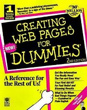 For Dummies Ser.: Creating Web Pages for Dummies by Bud E. Smith (1997,...