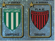 N°361 BADGE PANACHAIKI GREECE PANINI GREEK LEAGUE FOOT 95 STICKER 1995