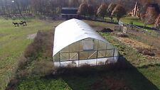 Deluxe Greenhouse High Tunnel
