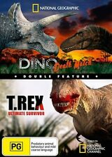 National Geographic: Double Feature - Dino Death Match and T.Rex NEW R4 DVD