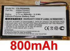 Batterie 800mAh type A98927554931 A98941654402 Pour Sony PRS-600/RC