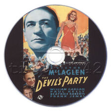 The Devil's Party (1938) Crime, Drama Movie on DVD