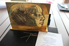 Pierre-Yves Tremois - Sculpture Bronze poli Mohon Femme signé numéroté 1988