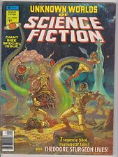 Unknown Worlds of Science Fiction Special #1, Very Fine Condition.