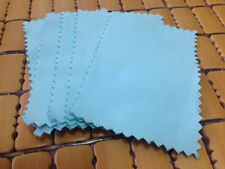 6x10cm 5PCS Jewelry Cleaning Polishing Cloth for Sterling Silver Gold Platinum
