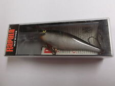 Hard to Find Rapala Shad Rap,SR-8 S,Silver,Finland Made