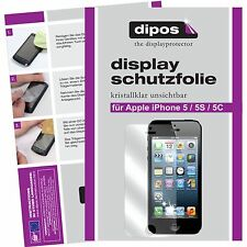 2x Apple iPhone 5C Schutzfolie klar Displayschutzfolie Folie dipos Displayfolie
