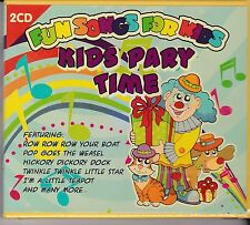 KIDS PARTY TIME - FUN SONGS FOR KIDS on 2 CD's