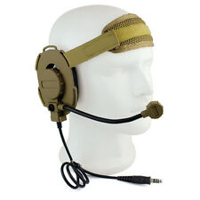 Z Tactical Bowman Elite II Headset Headphone for Kenwood 2Pin Two Way Radios