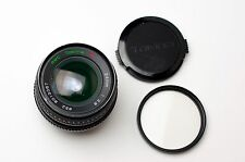 RMC Tokina 24mm f/2.8 Prime Lens for Pentax K Caps & Filter (#1829)
