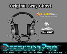 Detectorpro original Gray Ghost  Headphones for metal detectors 150 oHms