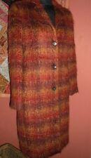 Stordimento MARELLA Designer Cappotto, Made in Italy, taglia 10, Warm MOHAIR / MISTO LANA