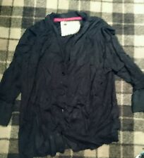 betty jackson black cardigan size 18