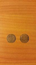 1 cent del 1895 e 1 cent del 1896