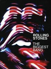 The Rolling Stones: The Biggest Bang 4 x DVD Boxset from 2007 Over 7 hours play