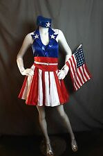 Captain America USO Girl Costume / Cosplay - Complete USO Dancer/Singer Costume