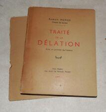 ROMAIN MOTIER citoyen de Genève 1947 TRAITé DE LA DéLATION