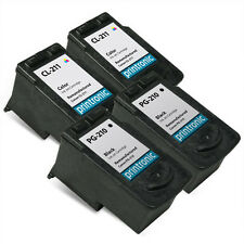 Ink Cartridge for PIXMA iP2700 MP250 MP490 MX330 MX410 - Canon PG-210 CL-211 4PK
