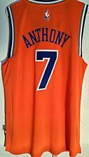 Adidas Swingman 2015-16 NBA Jersey Knicks Carmelo Anthony Orange sz 2X