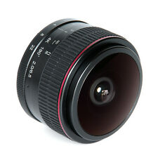 Meike 6.5mm Ultra Wide f/2.0 APS-C Manual Fisheye Lens for Canon EF-M Mount Lens