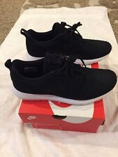 Men's Nike Air Max Flyknit Max Roshe Run Nm Black