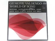 Giuseppe Valdengo - WORLD OF SONGS - Supraphon SUA 10884 - LP