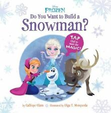 BRAND NEW HARDCOVER Do You Want to Build a Snowman? by Glass - FIRST EDITION