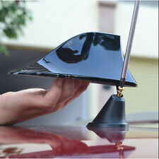 1* Car Universal Black Roof Tail Shark Fins Radio Antenna with signal Decoration