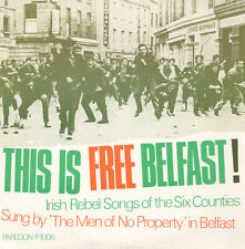 Men of No Property - This Is Free Belfast [New CD]