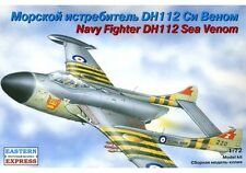 EASTERN EXPRESS 72225 NAVY FIGHTER DH112 SEA VENOM SCALE MODEL KIT 1/72 NEW