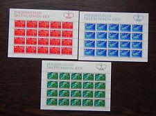 Liechtenstein 1967 Liechtenstein Sagas 1st Series in complete sheets of 20 MNH