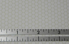 Dollhouse Miniature Floor White Beige Hexagon Tile MH5910 1:12 Scale