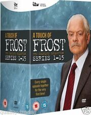 ❏ A Touch of Frost - Series 1 - 15 DVD + BONUS FEATURES Complete Collection ❏