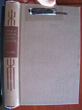 From a Bench in Our Square by Samuel Hopkins Adams 1969 HC   ex library
