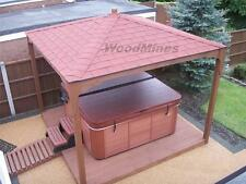 3m WOODEN GAZEBO, HOT TUB, SMOKING SHELTER, POND COVER, JACUZZI , SPA PERGOLA.