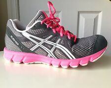 Asics Women's RUSH33 Running Cross Training Athletic Shoes Pink/Gray US Sz 8 Med