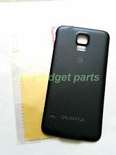 New OEM Samsung Galaxy G900A Battery Door Cover W/ Waterproof Seal S5  AT&TBLACK