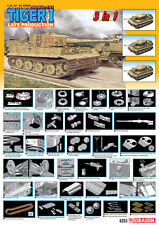 1/35 Dragon Tiger 1 Late Production (3 in 1), Pz.Kpfw. VI Ausf. E - #6253