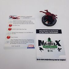 Heroclix Web of Spider-Man set Doppelganger #062 Chase figure w/card!