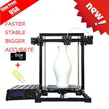 2017 Upgraded LCD 2004A Cover Box 3D Printer DIY KIT X3 MK8 Extruder Bundle NEW!