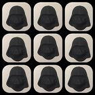 STAR WARS Darth Vader X 12 EDIBLE CUPCAKE TOPPERS CAKE 3d Faces