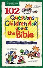102 QUESTIONS CHILDREN ASK ABOUT THE BIBLE YOUTH BOOK  FREE SHIP TRACK