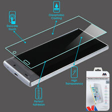 For Sharp Aquos Crystal 306 Shatterproof Tempered Glass Screen Protector Cover