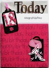 Hoy en día, 18 tarjeta de cumpleaños felicitaciones, Hembra, tema de moda, a estrenar