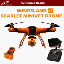 """Wingsland Scarlet Minivet Drone with 5"""" LCD Screen, 1080P Camera, 3-Axis Gimbal"""